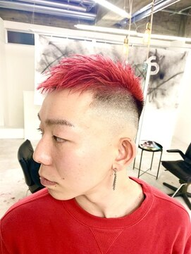 アブアイロス(LOSS)【stylist/shogo】クルーカット