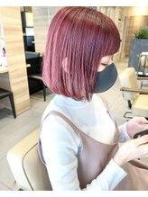 ルームヘアー(ROOM HAIR)pink BOB