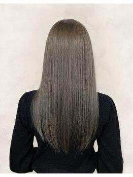 ナイン(9 nine)の写真/髪がつやつやになる髪質改善カラーが大人気!貴方の髪を潤い溢れる髪質に導きます◎