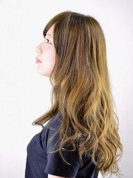 アイフィールローズ(ifeel Rose)の写真/髪・頭皮への優しさ◎化粧品登録のコスメパーマは髪を傷めにくく軽やかにキマる♪嬉しいヘッドスパ付き☆