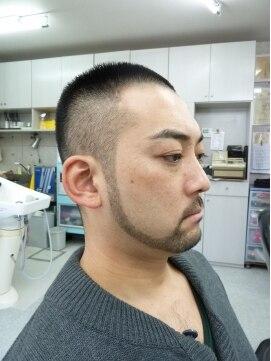 バニーヘアー(Vanny Hair)男子モヒボウズとヒゲ サッパリ肉食系