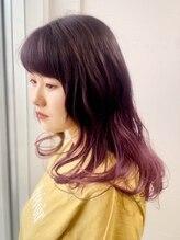 ヴェリーヘアメイク(VERY Hair Make)ロンググラデーションカラー