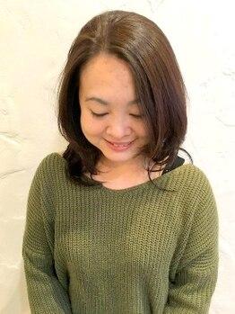 """ライセンスの写真/【ご新規様特典20%OFF】人気No.1☆自然派和漢彩染カラーは発色がよく""""染めるほどキレイな髪""""に…。"""