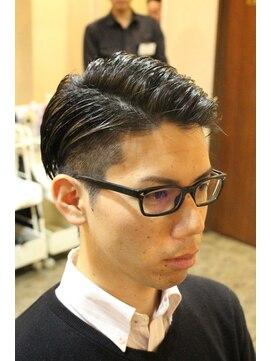 ディスパッチヘアー 甲子園店(DISPATCH HAIR)ツーブロック×七三サイドパート