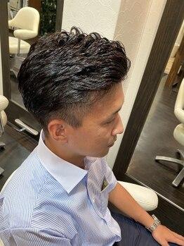 オムヘアーツー (HOMME HAIR 2)の写真/マンツーマンだから過ごしやすい!髪のお悩み等相談しやすい♪
