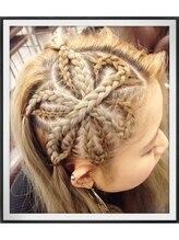 バティック ヘア 横浜店(Batik Hair)お花*コーンロウ