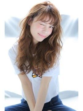 アリーズヘアー 心斎橋OPA(allys hair)潤カワくびれミディ☆甘辛フェミニンナチュラル女子