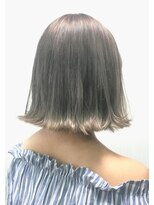 ヘアーサロン エール 原宿(hair salon ailes)(ailes 原宿)style386 デザインカラー☆アッシュミルクティ