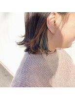 マイ ヘア デザイン(MY hair design)2色チラ見えカラー