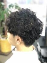 クック ヘアー(Cook Hair)ツーブロックショート・パーマ01
