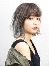 ヘアーウィン(hair win)透明感ブルーグレージュ【saki】-A