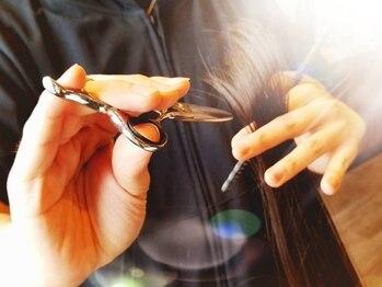 プレミアム ヘアー フィート(Premium Hair FEET)の写真/一人ひとり丁寧にイメージ通りのスタイルに☆一人のスタイリストが最後まで担当致します。