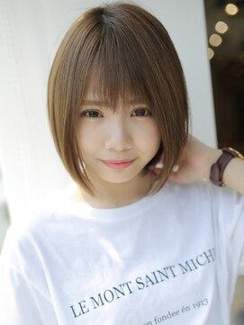 アグ ヘアー シーモ 下関店(Agu hair seamo)軽やか♪小顔ショート