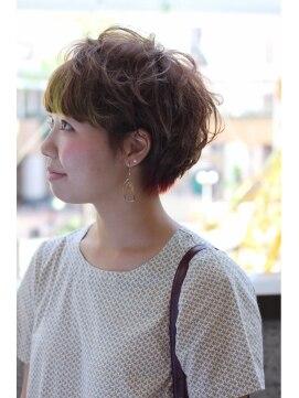 クリコ ヘアーデザイン(CLICQUOT hair design)ガーリーエアショート