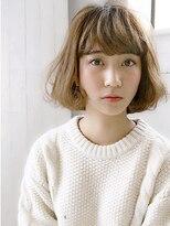 アリーズヘアー 青山(allys hair)allys hair aoyama 抜け感・リラクシー甘めバング【WAJI】
