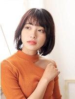 カイノ プラットプラット店(KAINO)【KAINO】黒髪大人ボブツヤツヤオイルカラー♪イノア
