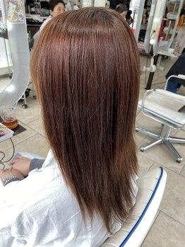 ヘアアンドメイク ジェイジェニック(HAIR&MAKE J GENIC)の写真/《艶・髪質改善プラス》はもうお試し頂けましたか?気になるクセやうねりも、柔らかく自然な仕上がりへ★