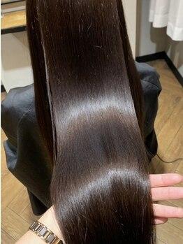 ハイル(KHAIR)の写真/【毛髪強度180%◆TOKIOハイパー取扱店】内部+外部補修で潤い溢れる美髪に☆憧れのサラ艶の髪が手に入る!