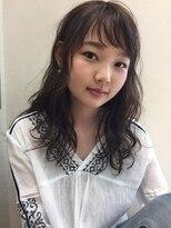 ローグ(Logue)keiko ☆ くせ毛を活かしたゆるっとパーマ♪