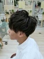 ハーフバックス 多摩境店(HAIR STUDIO HALF BACKS×1/2)マッシュパーマスタイル