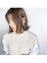 ソース ヘア アトリエ(Source hair atelier)【SOURCE】外はね切りっぱなし