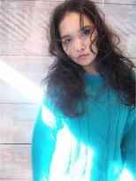 ミエルヘアーアンドスパ(miel hair&spa)◆miel◆ 大人外国人風 無造作ロング