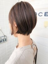 オーシャン ヘアアンドライフ(OCEAN Hair&Life)[OCEAN Hair&Life]グラボブ☆刈り上げ女子☆ネイビーカラー☆