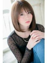 モッズ ヘア 福岡姪浜店(mod's hair)N.カラーでサラ艶★スイートミディ