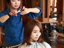 AUBE HAIRのデザインカット
