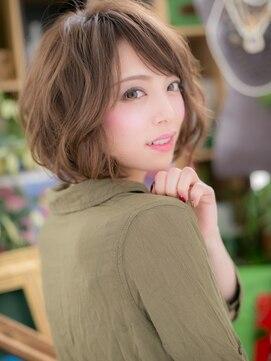 カバーヘア ブリス 川口東口そごう店(bliss)*+COVER HAIR+*…外国人風☆エアリーカールb