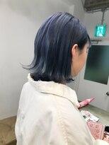 チクロヘアー(Ticro hair)【ticro大石】ネイビ-ブルー