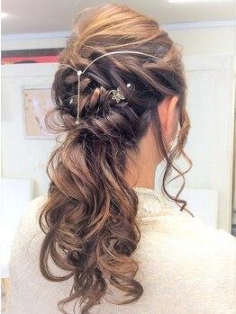 アローヘアー 浜松町店(Arrow Hair)の写真/《浜松町・大門駅 徒歩1分》数多くのヘアセット経験を積んだ実力派サロン☆土日祝8時OPENもうれしい♪