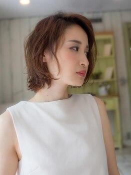 ヒラソル(girasol)の写真/白髪が気になる方におススメ!根本から美しさを育む徹底したケアで白髪対策にも☆【横浜駅徒歩3分】