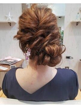 ヘアーアンドネイルアンカーバイラフ(Hair & Nail anchor by Laf)浴衣アレンジ☆