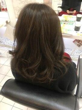 ヘアーデザインムーヴ(Hair design MOVE)2019年 新トレンド☆ブランジュ☆