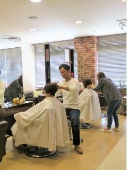 ヘアサロン リリィ(hair salon riri)の写真/程よい明るさのグレイカラーを楽しみたい方はぜひririにお越しください◇