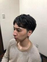 髪ファッション四季 音羽店アップバングパーマショート