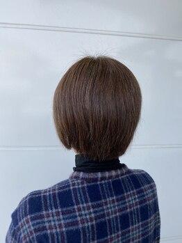 サロンド ながい(Salon de)の写真/白髪を活かしたオシャレカラーや、白髪が気になりだした方のお悩みにもしっかりお応え◎