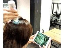 トーキョーヘアーギンザ(TOKYO hair GINZA)の雰囲気(ご希望の方に、マイクロスコープで頭皮チェック。)