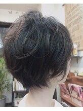 ヘアーサロン テイル リバー(Hair Salon Tail River)ショートのゆるふわパーマ☆