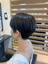 ヘアデザイン グラン ジュテ 検見川浜(Hair Design GRAND JETE)【鈴木絢子】マニッシュショート