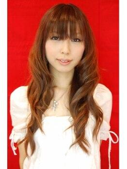 クルー ヘアー(CREW hair)の写真/【野洲】おしゃれ度がアップするフェミニンパーマ☆髪にやさしく、贅沢な潤いを手に入れて♪
