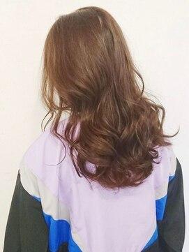 セシルヘアー 広島駅前店(Cecil hair)ツヤ感×グロッシーアッシュ