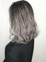 ソース ヘア アトリエ 京橋(Source hair atelier)ホワイトグレージュ