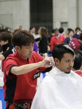 プライム ヘアー ローズ(Prime Hair ROSE)の写真/受賞歴多数!!全国大会にも出場有りの経験と実力を兼ね備えたサロンで満足度◎技術力に定評あり!