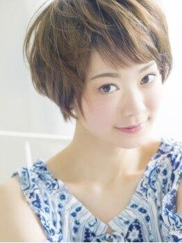 カナエ(CaNaE)の写真/自信が持てるスタイルへ☆髪が伸びた後の事まで考え計算しつくしたカット技術◎周りの視線も独り占め♪