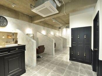 半個室型美容室 スーリールユス(Sourire Yusu)の写真/お子様と一緒に行けるサロン★マンツーマン施術&完全個室があるから、お子様の側で安心してキレイに♪