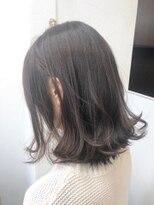 ヘアーアンドメイク ポッシュ 新宿店(HAIR&MAKE POSH)隠れハイライト*透け感ブラウン