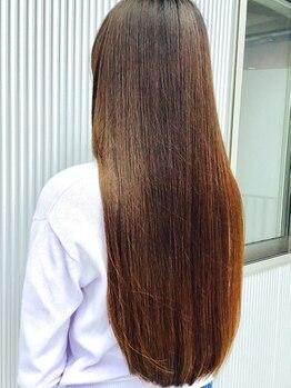 ヘアステーションフラット(HAIR STATION FLAT)の写真/大人気[酸熱トリートメント]!ダメージやパサつきはもちろん、クセやボリュームも抑え、扱いやすい髪質へ♪