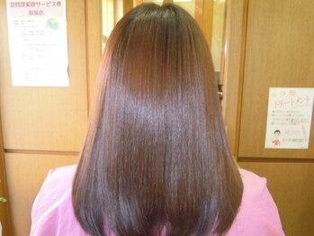 トータルビューティーサロンカワニシの写真/髪のハリ・コシ・ツヤ…、年齢による髪のお悩みもお気軽にご相談ください!頭皮環境を整え憧れの艶髪へ♪